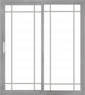 Premium Vinyl Sliding Patio Door