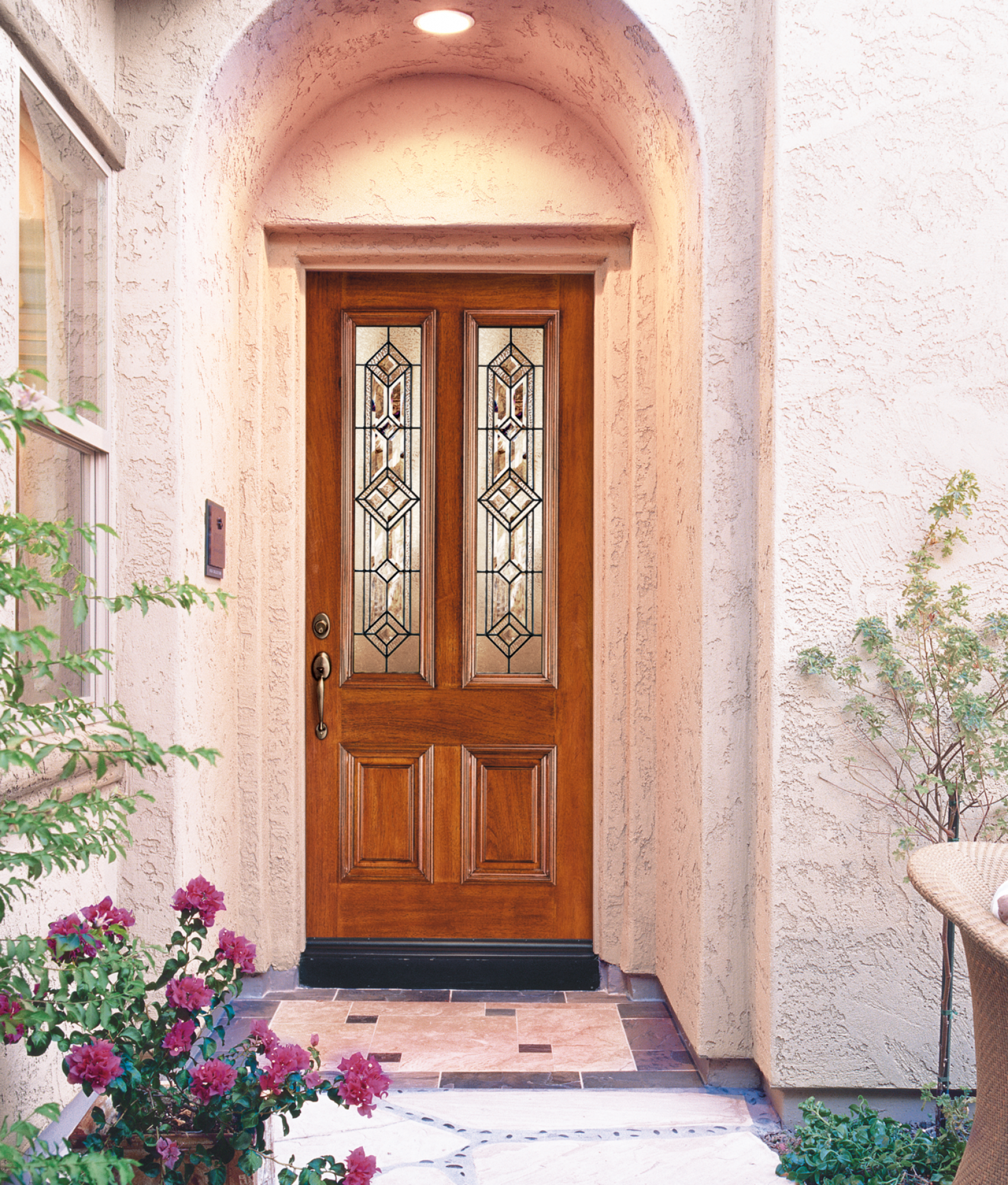 Aurora® Custom Fibreglass Glass Panel Exterior Door | JELD-WEN ...