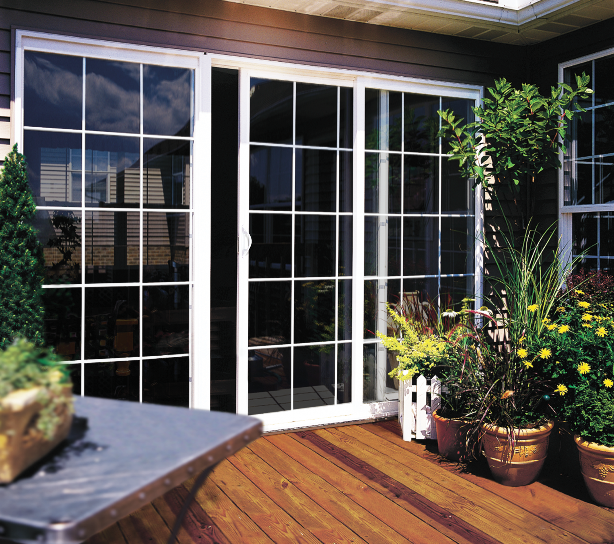 Builders Vinyl Sliding Patio Door Jeld Wen Windows Doors