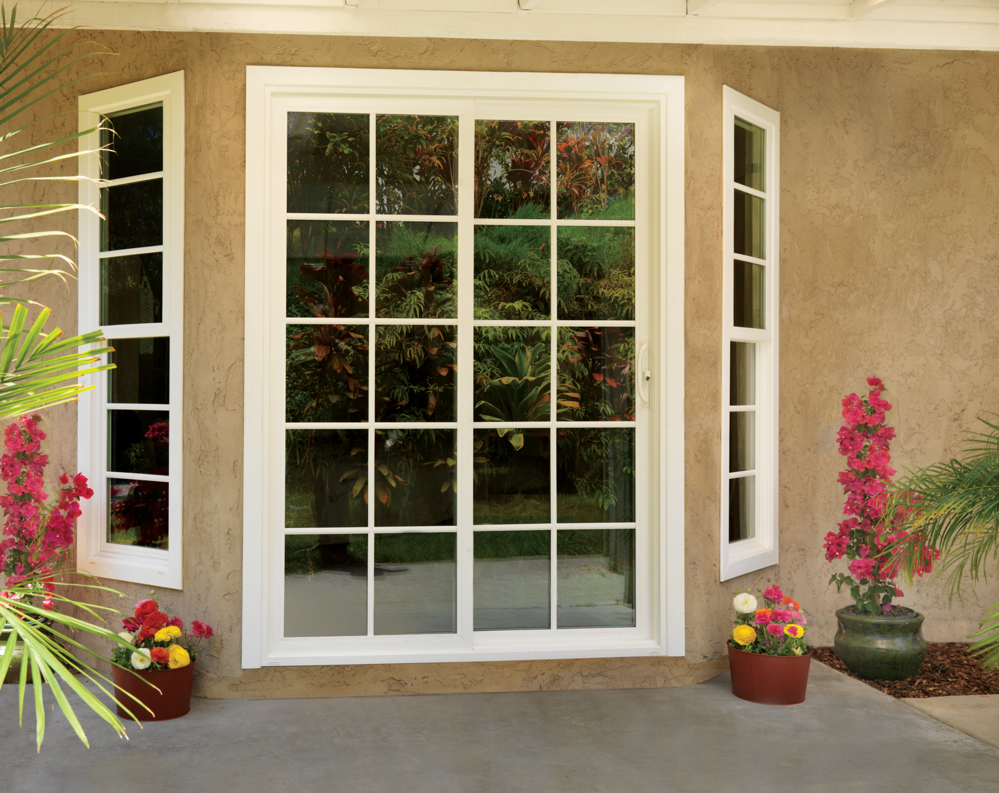 Premium Vinyl Sliding Patio Door Jeld Wen Windows Doors